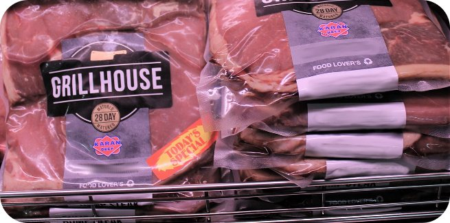 store packaged meat