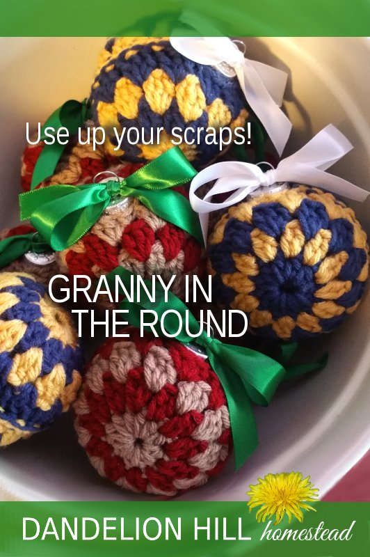 Pinterest image for Granny in the Round article