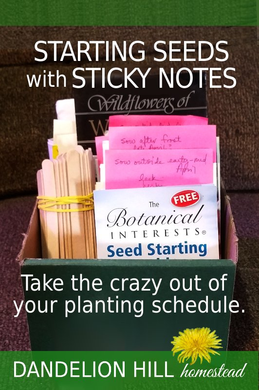Pinterest image for Sticky Note Planning