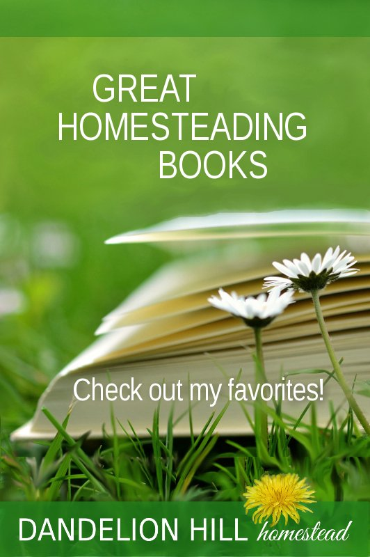 Pinterest image for Library of Great Homesteading Books