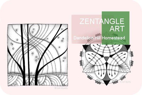 Zentangle art