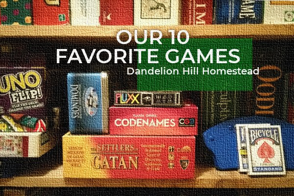 our 10 favorite games