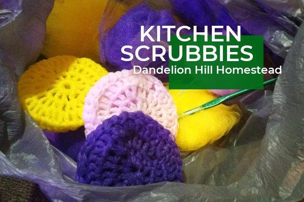 bag of scrubbies