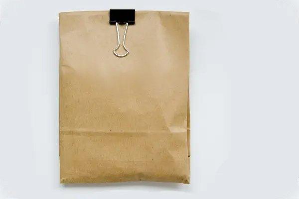 mushrooms in a paper bag